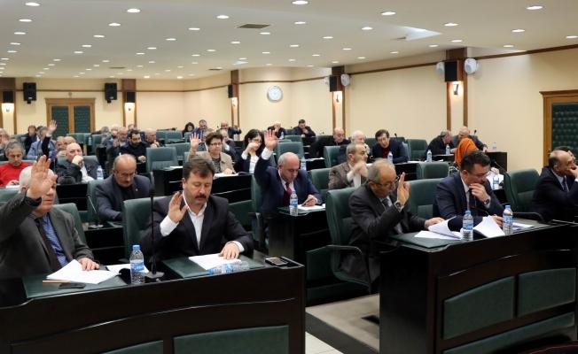 Büyükşehir Belediye Meclis toplantısı