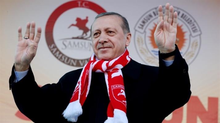 Cumhurbaşkanı Sayın Recep Tayyip Erdoğan Samsun'da