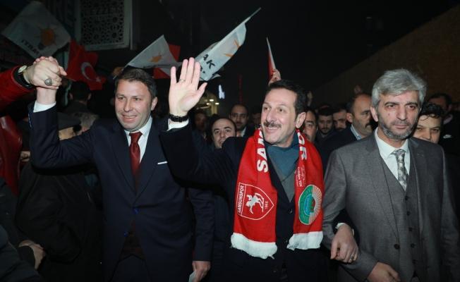 İLKADIM'DA CUMHUR'UN GÖVDE GÖSTERİSİ