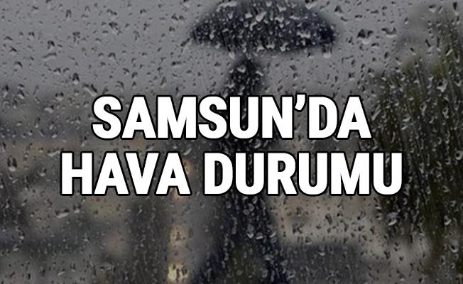 Samsun'da hava durumu... 08.02.2019