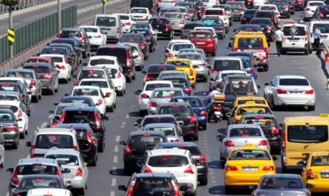 Samsun'da taşıt sayısı 352 bin 307 oldu