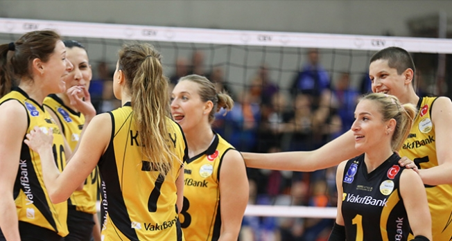 Vakıfbank Çeyrek finalde