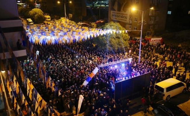 AK Parti Tekkeköy SKM'ye görkemli açılış
