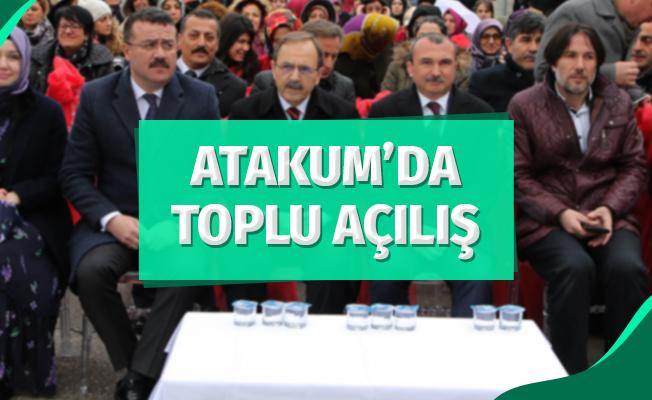 Atakum'da Toplu Açılış
