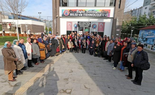 Bafralı kadınlar sordu, Başkan Kılıç cevapladı
