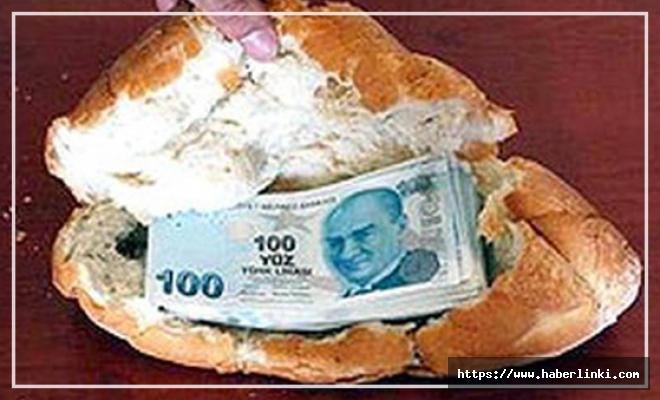 Dilendikleri Parayı Ekmeğin Arasına Sakladılar