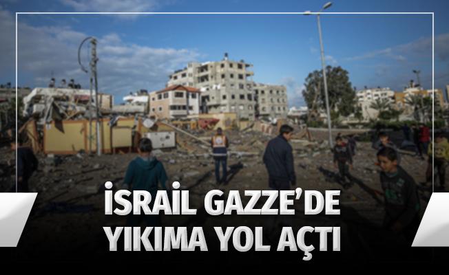 İsrail'in Gazze'deki Saldırıları Yıkıma Yol Açtı