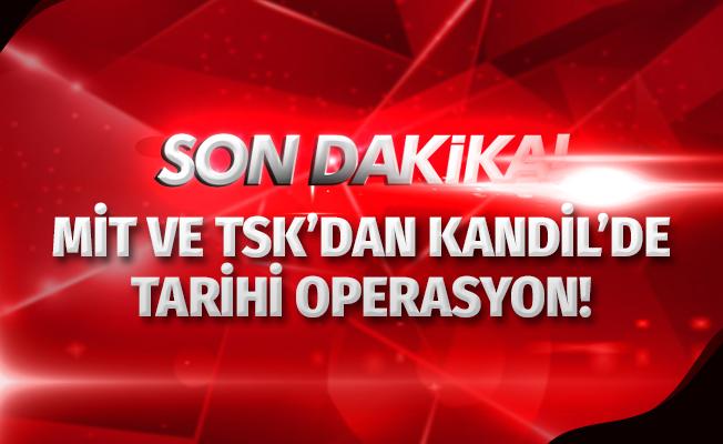 MİT ve TSK'dan Kandil'de Tarihi Operasyon