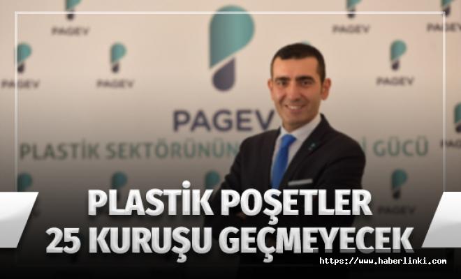 Plastik Poşet 25 Kuruşu Geçmeyecek
