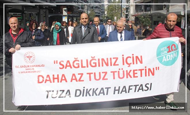 Samsun'da Tuza Dikkat Haftası Yürüyüşü
