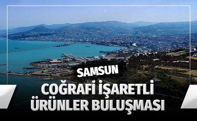 """Samsun'da """"Orta Karadeniz Bölgesi Coğrafi İşaretli Ürünler Buluşması"""""""