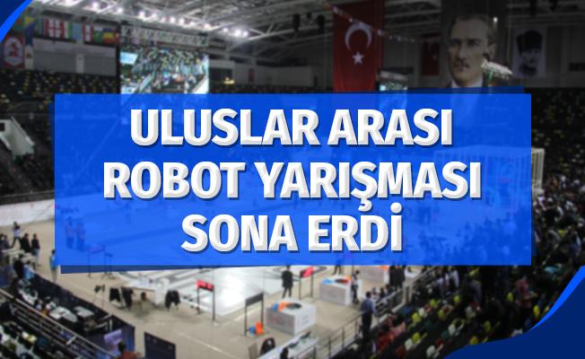 13. Uluslararası Robot Yarışması Sona Erdi