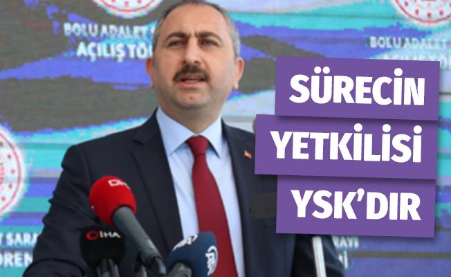Adalet Bakanı Gül Twitter'dan Açıkladı