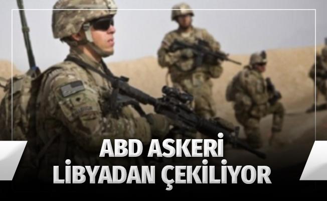AFRICOM, Libya'daki Amerikan Askerinin Çekildiğini Açıkladı
