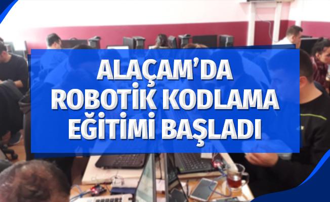Alaçam'da Robotik Kodlama Eğitimi Başladı