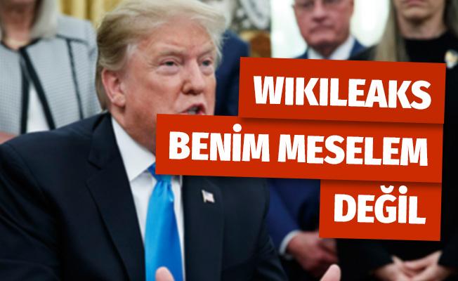 Donald Trump'tan WikiLeaks Açıklaması