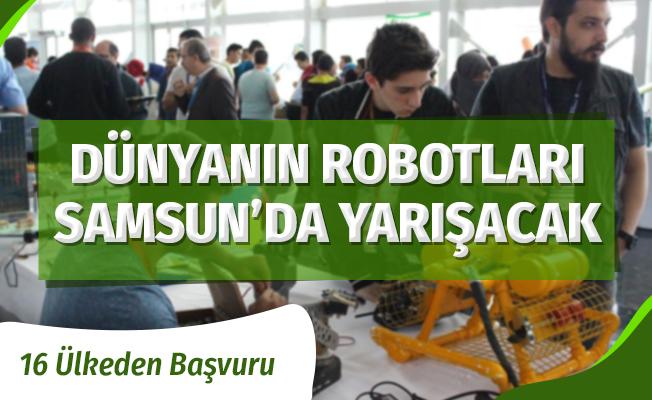 Dünyanın Yapay Zeka Robotları Samsun'da Yarışacak