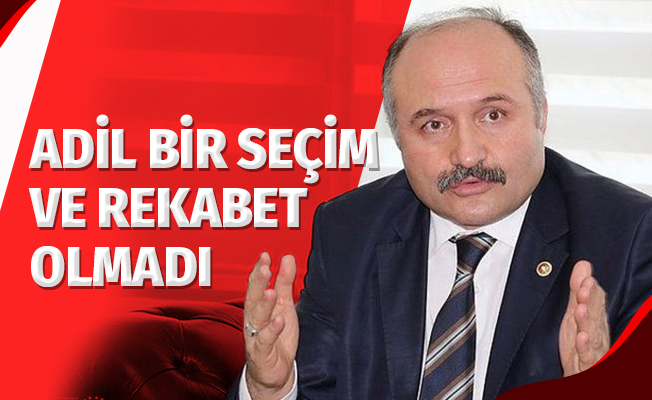 """Erhan Usta: """"Adil Bir Seçim ve Rekabet Olmadı"""""""