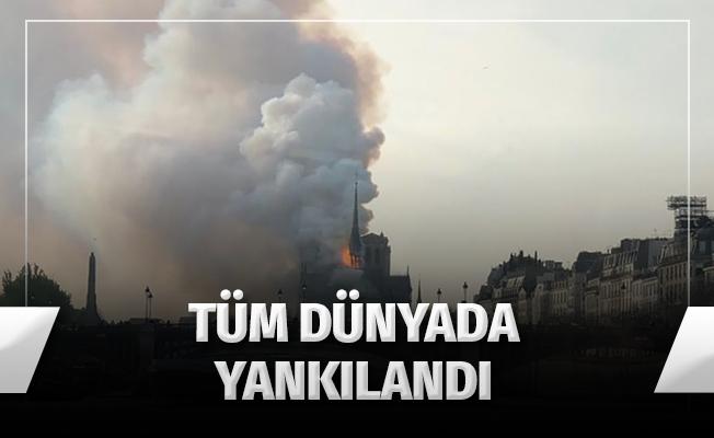 """Fransa'da """"Notre Dame"""" Yangını"""