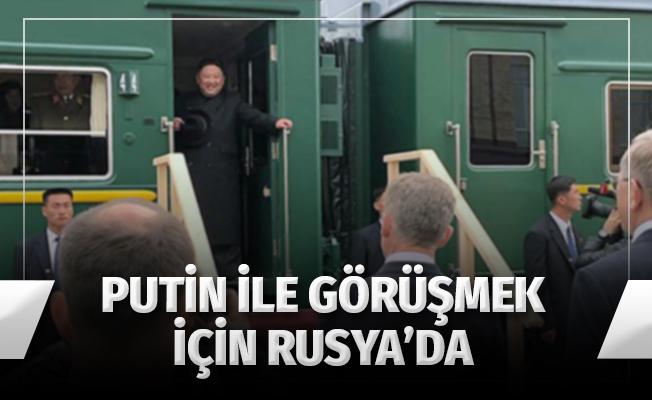Kim Jung-un Putin ile görüşmek için Rusya'ya geldi