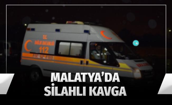 Malatya'da Silahlı Kavga: 2 Yaralı, 5 Gözaltı
