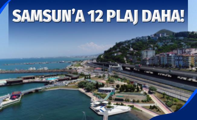 Samsun'a 12 plaj daha yapılacak