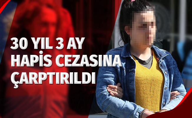 Samsun'da 1 Kişiyi Öldürüp, 1 Kişiyi Yaralayan Kadına 30 Yıl 3 Ay Hapis