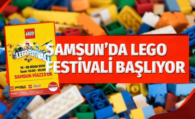 Samsun'da Lego Festivali Başlıyor