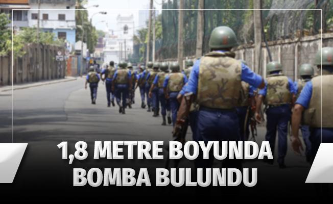 Sri Lanka'da havalimanında 1,8 boyunda bomba bulundu