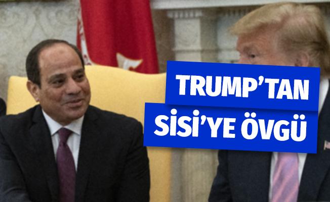 Trump, Mısır Cumhurbaşkanı Sisi İle Bir Araya Geldi