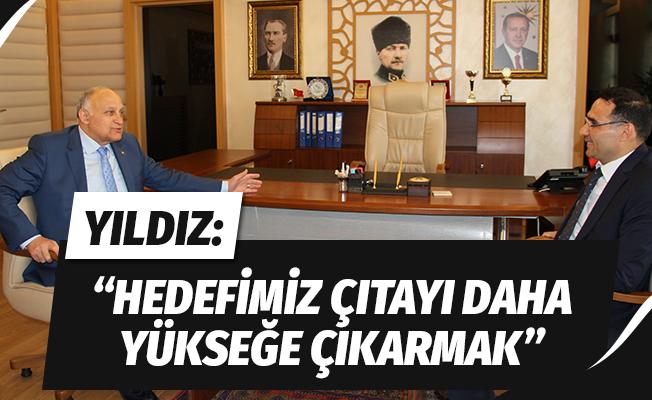 """Yıldız: """"Hedefimiz Karadeniz'in incisi Samsun'da çıtayı daha yükseklere çıkarmak"""""""