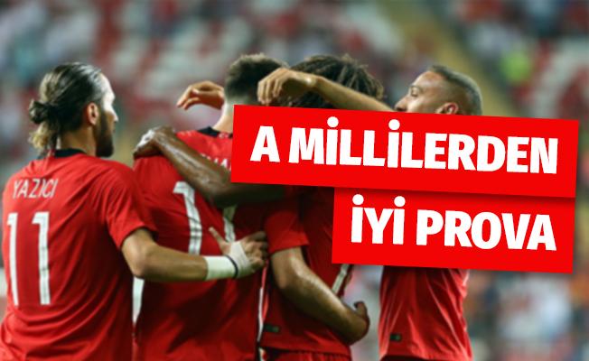 A Millilerden iyi prova: Türkiye 2-1 Yunanistan