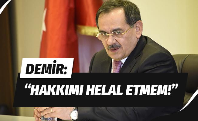 """Başkan Demir'den mahalle başkanlarına: """"Hakkımı helal etmem"""""""