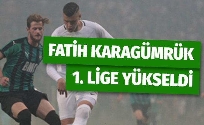 Fatih Karagümrük 1.Lig'e yükseldi