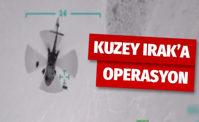 Irak Kuzeyi Hakurk bölgesine operasyon