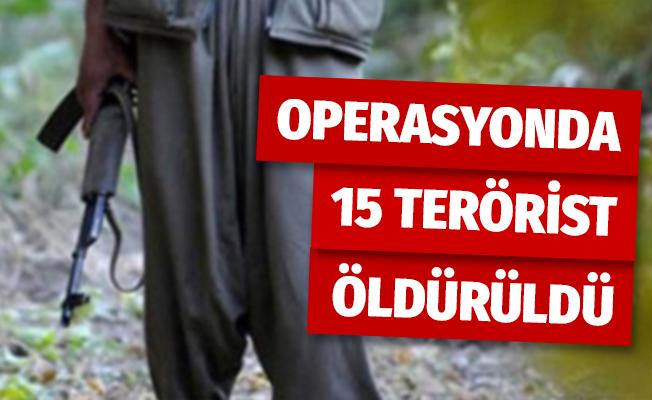 MSB: 'Pençe operasyonunda etkisiz hale getirilen terörist sayısı 15 oldu'