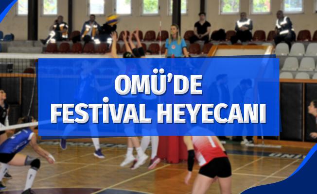 OMÜ'de festival heyecanı