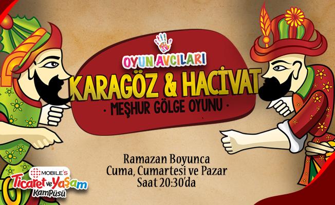 Ramazan Boyunca Karagöz ve Hacivat Etkinliği Oyun Avcıları Samsun'da