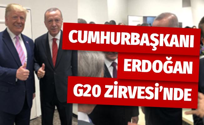 Cumhurbaşkanı Erdoğan G20 Zirvesi'nde