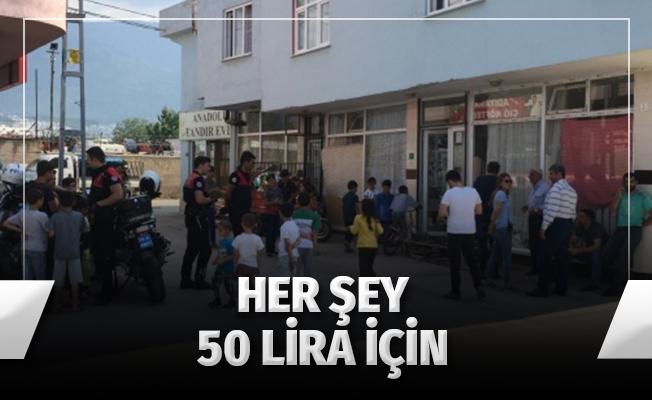 Eniştelerini 50 liralık borç için bıçakladılar