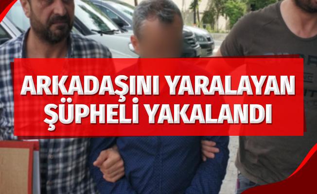 Samsun'da arkadaşını silahla yaralayan şüpheli yakalandı