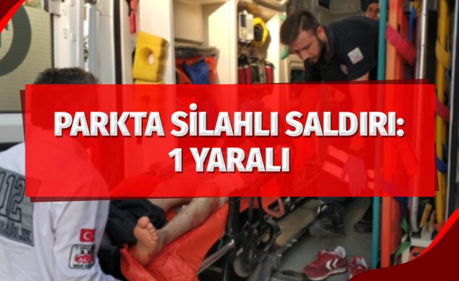 Samsun'da parkta silahlı saldırı: 1 yaralı