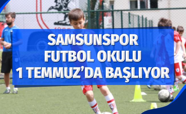 Samsunspor Futbol Okulu yaz sezonu 1 Temmuz'da başlıyor