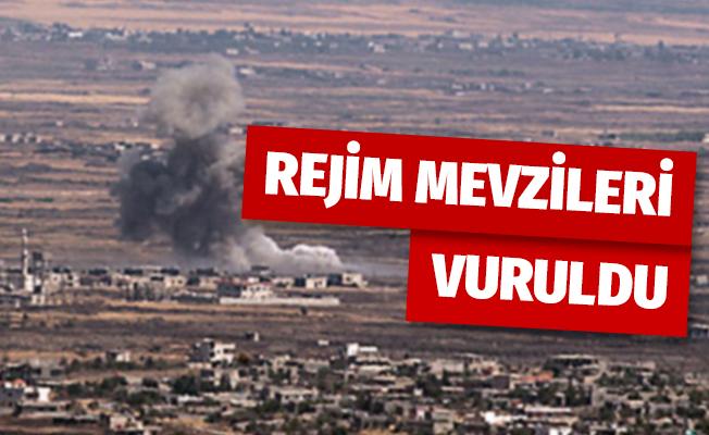 Türkiye'nin gözlem noktasına saldıran rejim mevzileri vuruldu