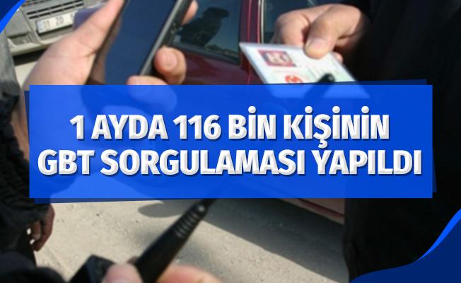 Samsun'da bir ayda 116 bin 285 kişinin GBT sorgulaması yapıldı
