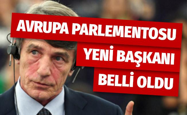 Yeni başkan Sosyal Demokratların adayı İtalyan David Sassoli oldu