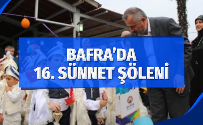 Bafra'da 16. Sünnet Şöleni