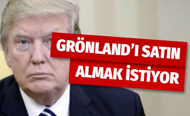 Trump, Grönland'ı satın almak istiyor