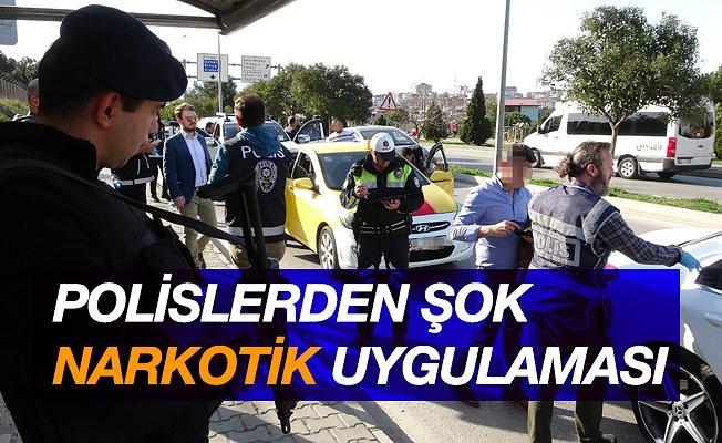 Samsun'da şok narkotik uygulaması