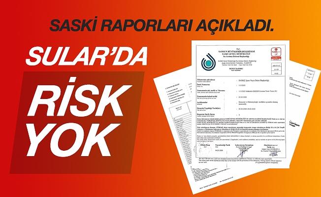 """Saski'den Açıklama """" Risk Yok """""""
